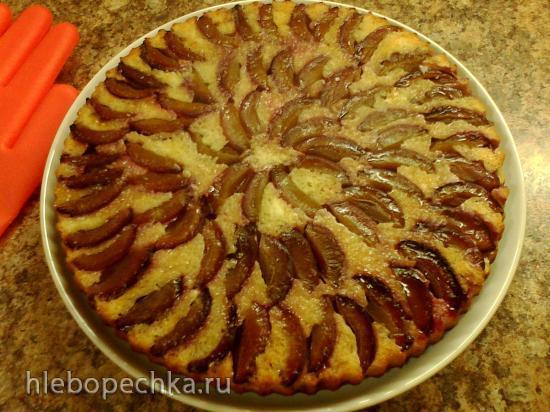 Пирог со сливами осетинский