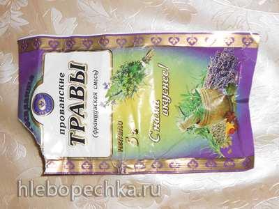 Хлеб ржаной с чесноком и прованскими травами