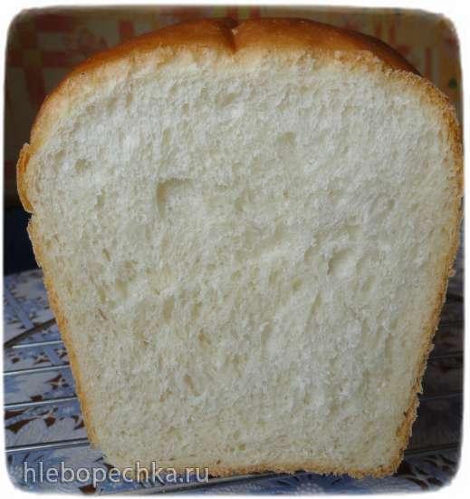 Бутербродный хлеб на заварном тесте (духовка)