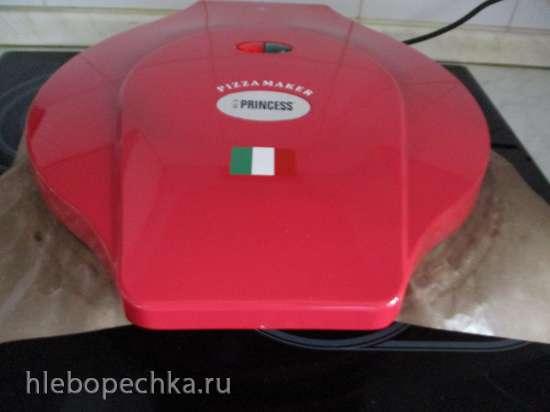 Ленивая мясо-овощная запеканка в  пиццамейкере Princess 115000