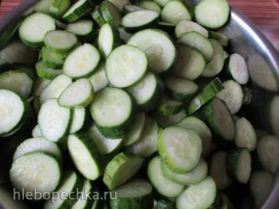 Огурцы нежинские (приготовление в вакууме)
