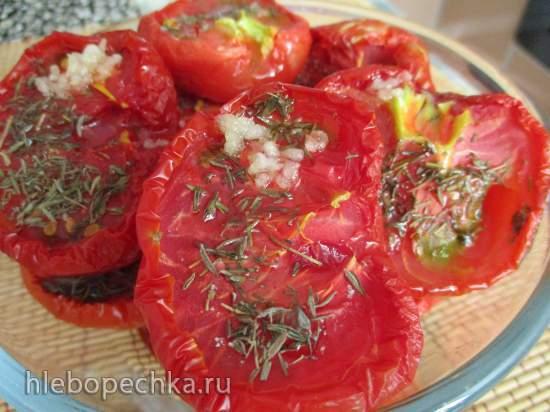 Закуска из вялено-сушеных помидор (сушилка Rommelsbacher DA 750)