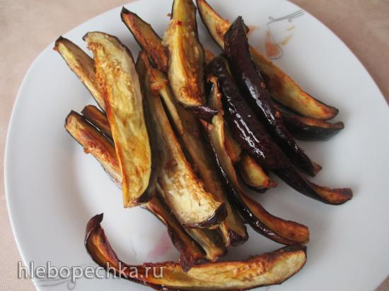 Баклажаны в маринаде в гриле  Ninja ( духовка, АФ)