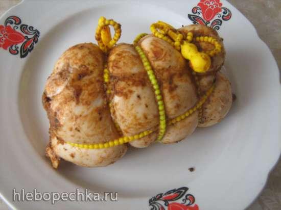 Пастрома из куриного филе в мультиварке