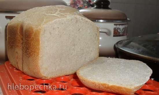 Пшеничный хлеб на закваске на каждый день