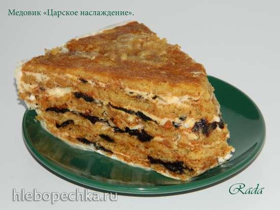 Торт медовый Царское наслаждение