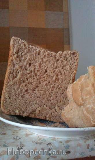 Пшеничный хлеб на хмелевой закваске в хлебопечке