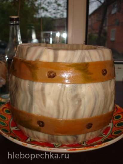 Структура древесины из мастики (мастер-класс)