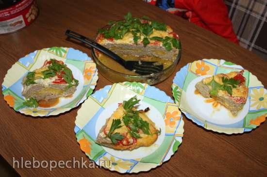 Овощная запеканка с рубленным филе птицы (Panasonic SR-TMH 18)