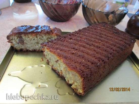 Кекс без пшеничной муки и яиц очень вкусный