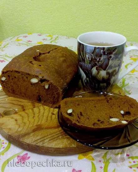 Кекс кофейный постный (хлебопечка)