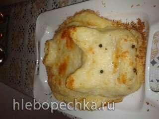 Картофельная запеканка под сырной корочкой