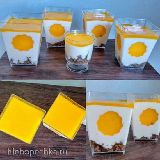 Сливочный торт (без выпечки)