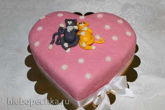 Сердечные торты