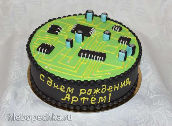 Техника компьютерная и бытовая (торты)
