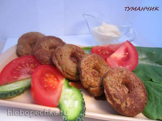 Оладушки из мяса и овощей «Детские»