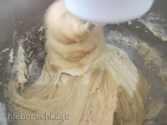 Кулич слоеный по рецепту Ирины Хлебниковой