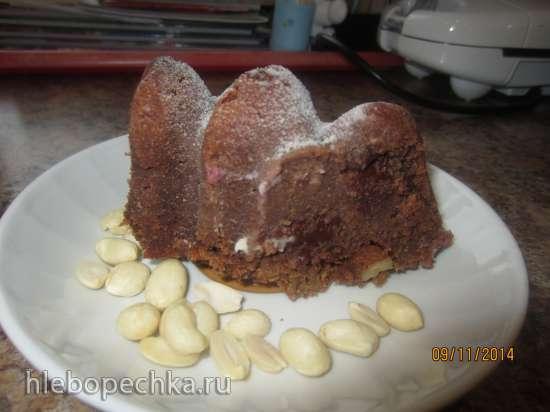 Кекс шоколадный с цукини