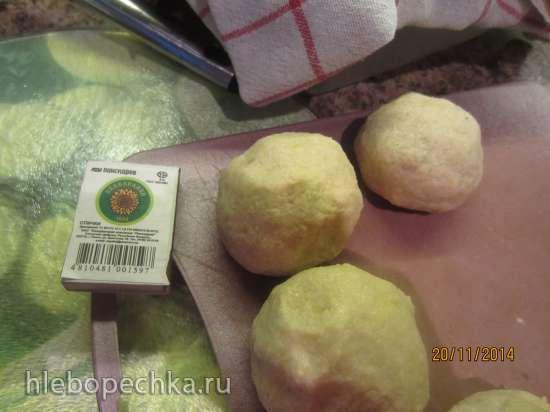 Картофельные клецки с мясом (отварные или обжаренные)