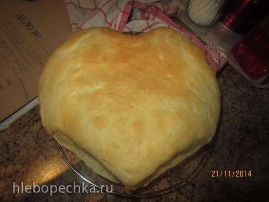 Швабский луковый пирог (Schwaebischer Zwiebelkuchen)