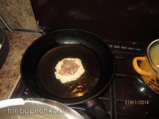 Белорусские драники (блины картофельные с мясом) мастер-класс