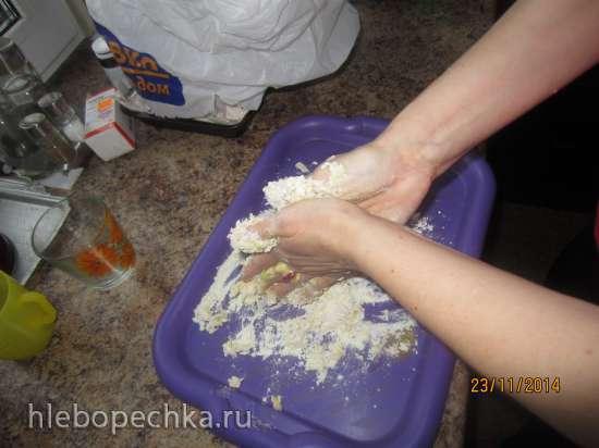 Затирка на молоке традиционная