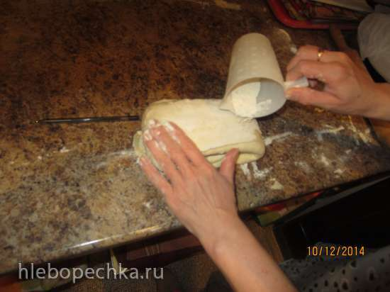 Легкое в приготовлении слоеное тесто с возможностью хранения