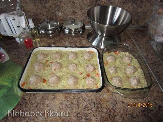Картошка с котлетами для избалованных