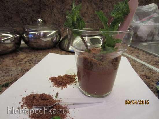 Десерт-розыгрыш «Мята в горшочке»