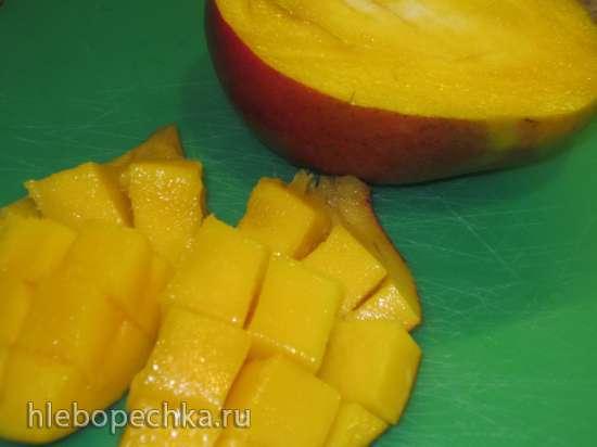 Семифреддо «Пряное манго с вишней и шоколадом»