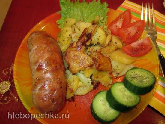 Колбаса домашняя из маринованного мяса