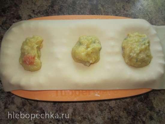 Вареники с картошкой и шкварочками в вареничнице Tupperware (мастер-класс)