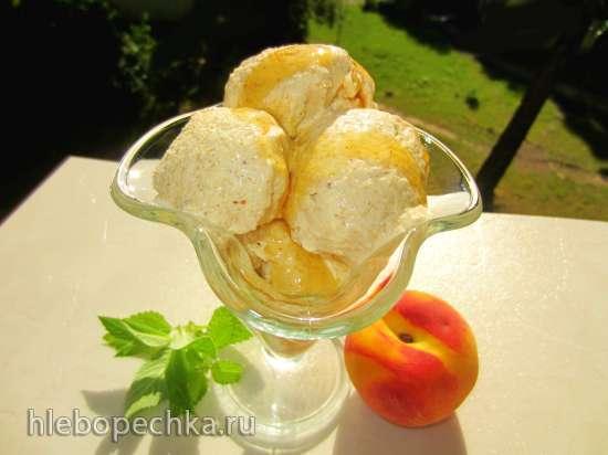 Мороженое из поленты и пармезана