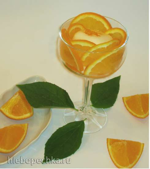 «Цветок апельсина» - самое ленивое мороженое для себя любимой