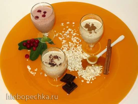 Овсяный йогурт и коктейли на его основе