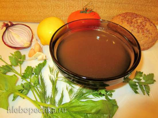 Бульон овощной – еще раз об известном