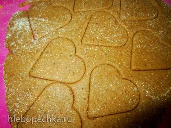 Пирожные цельнозерновые с кремом из тыквы и творога