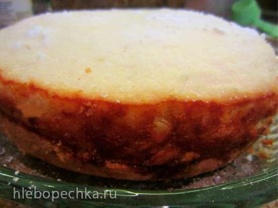 Пирог «Пина Колада» с ананасом, кокосом и ромовой ноткой