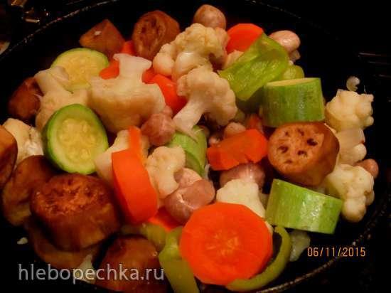 Овощи гриль (без гриля)