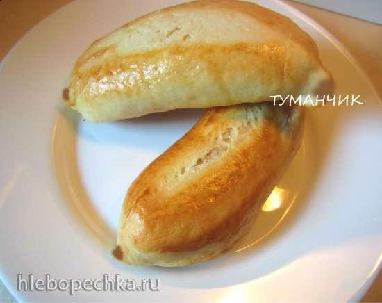 Булочки Бананы с творожной начинкой по рецепту Светланы Метакса
