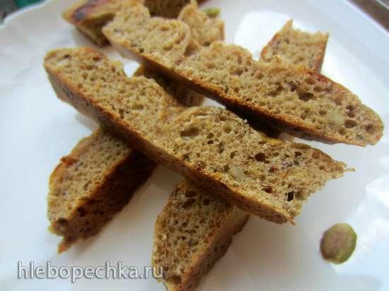 Хлеб с семенами и морковью или тыквой (духовка)