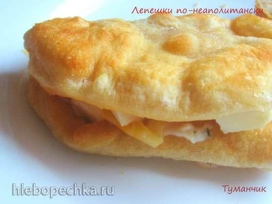 Жареные лепешки по-неаполитански по рецепту Софи Лорен