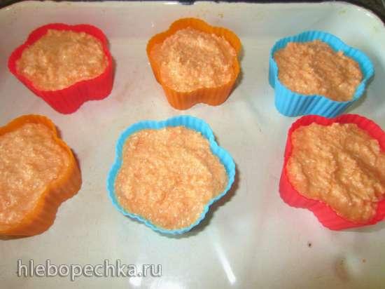 Морковный пудинг из белого хлеба для детей и взрослых
