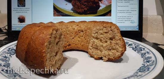 Ореховый кекс (без яиц)