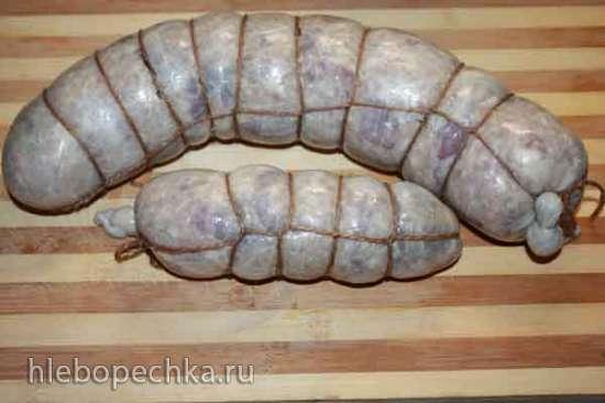 Натуральная оболочка для колбас и искусственная оболочка (СП, РФ)