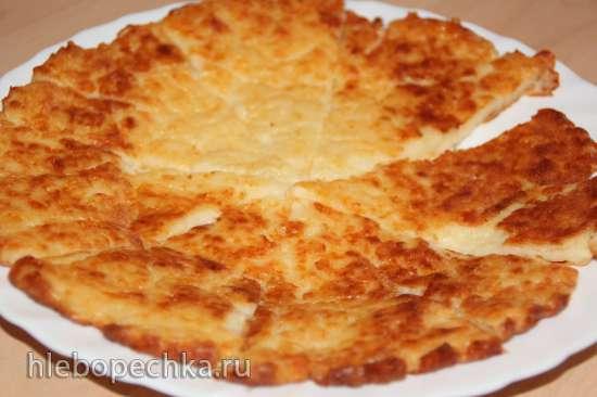 Ленивый хачапури на сковороде