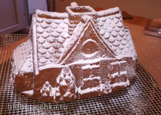 Кекс Имбирно-пряничный домик