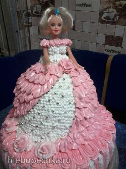 Торт Барби (мастер-класс)