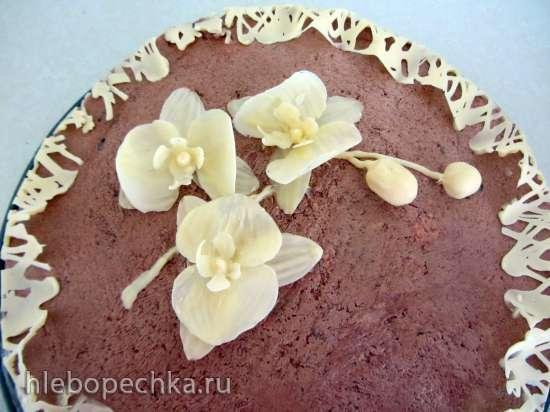 Орхидеи из шоколада