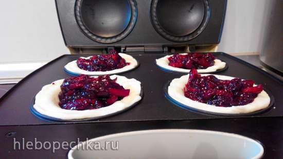 Ягодные лукошки с идеальным (не калорийным) тестом (VES 3)
